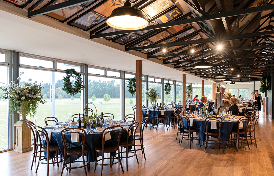 function room at bowral rugby club